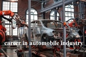 career in automobile industry automobile engineering